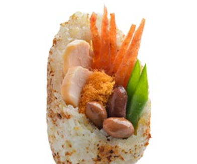 Honey Goose Rice Roll 蜜鹅饭团 (Veg)