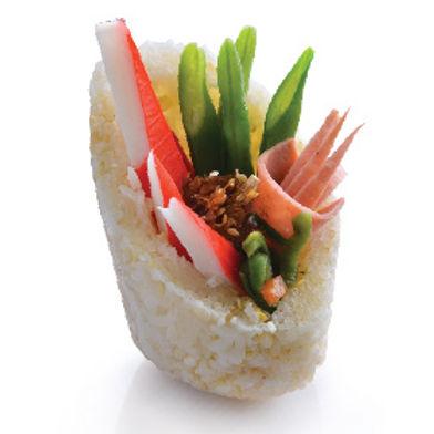 Spicy Shrimp Rice Roll 香辣虾米饭团