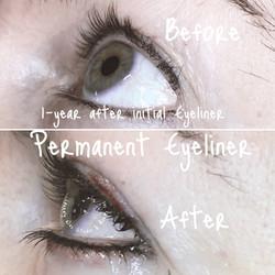 Semi-Permanent Eyeliner