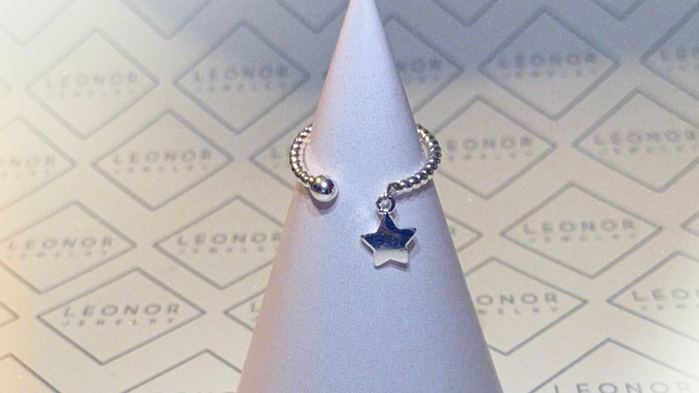 Anillo Shotting star