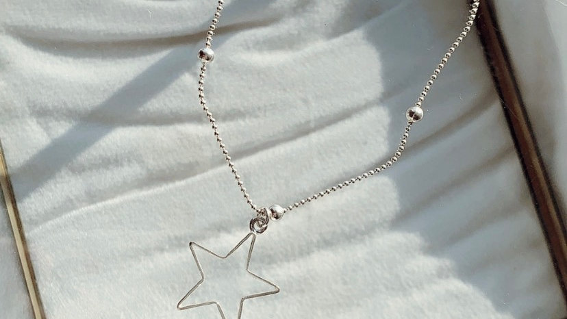 Pulsera con maxi estrella