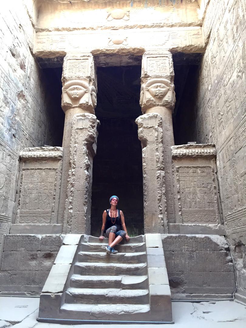 Dandera temple of Hathor
