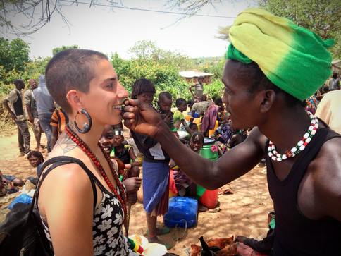 Meeting tribes of the Omo Valley
