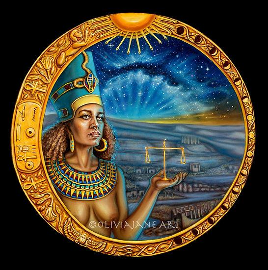 Nefertiti Archival Print