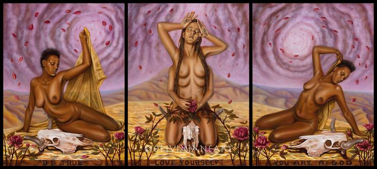 Goddess Tryptic