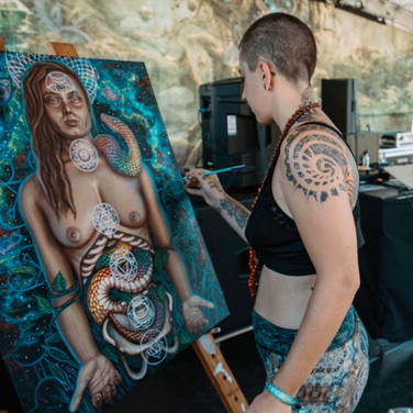 Live Painting with Bumble Music and Adam Scott Miller