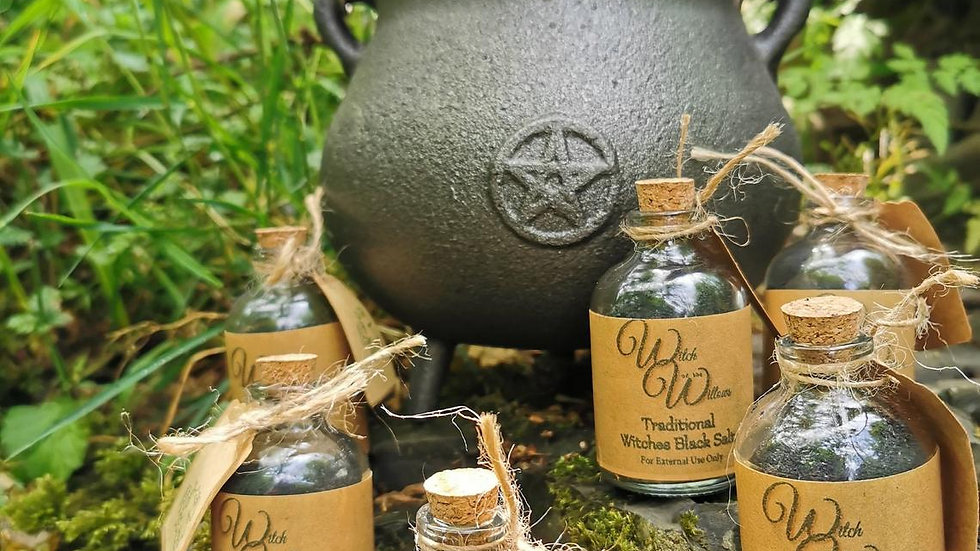 Traditional Witches Black Salt