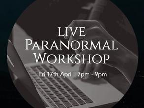 Live Paranormal Workshop - Interactive Classroom
