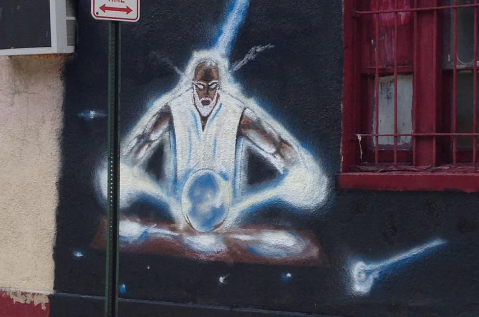 Obatala Mural