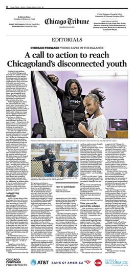 Chicago Tribune Editorial Chicago Forwar