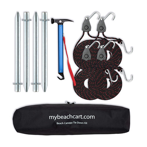 Beach Canopy Tie Down Kit