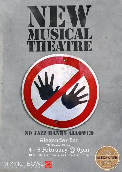 No Jazz Hands Allowed