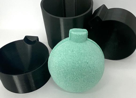 3D Ornament Bulb Bath Bomb Mold