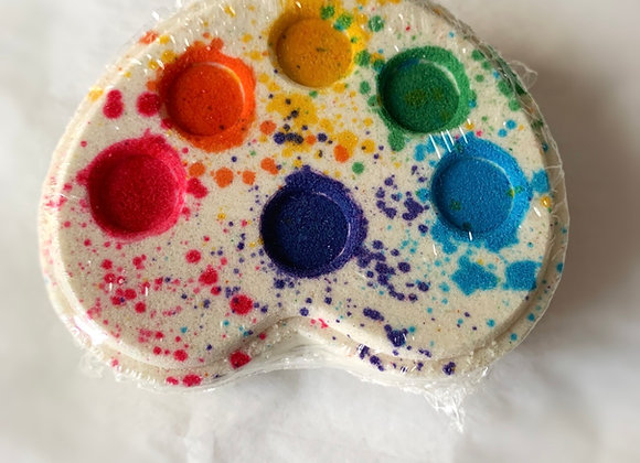 Rainbow Palette Bath Bomb