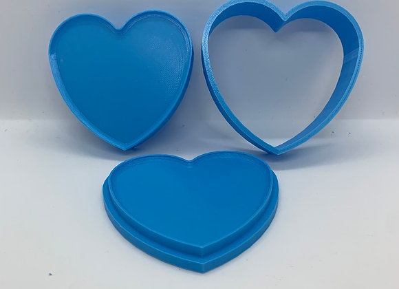 Heart Bath Bomb Mold