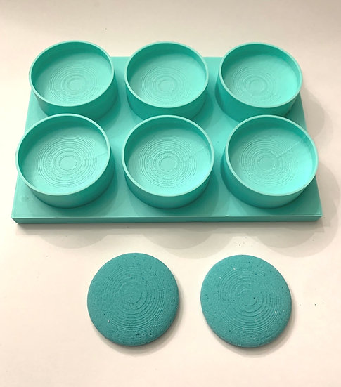 Multi-Macaroon Bath Bomb Mold