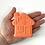 Thumbnail: Gingerbread House Bath Bomb Mold