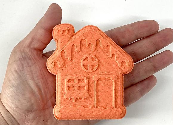 Gingerbread House Bath Bomb Mold