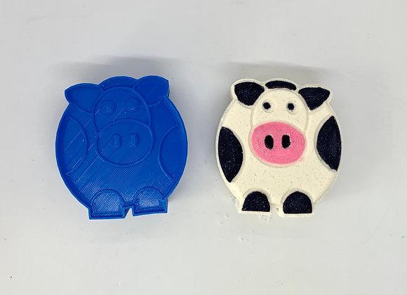 Cow Bath Bomb Mold