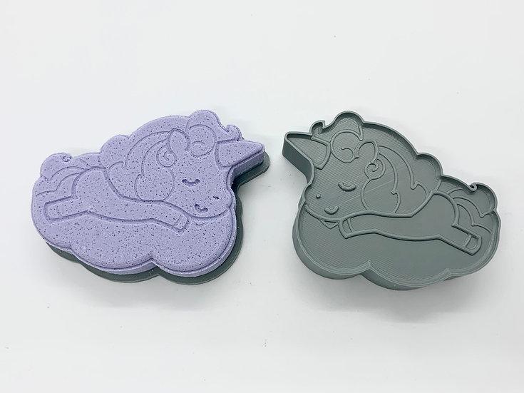 Unicorn Nap Bath Bomb Mold