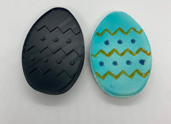 Flat Egg Bath Bomb Mold