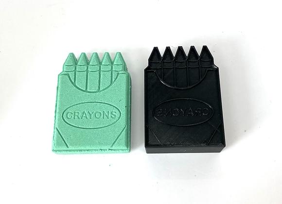 Crayon Box Bath Bomb Mold