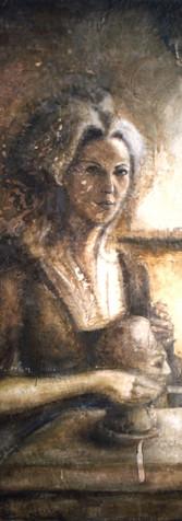 Madame Tussaud (Self-Portrait)
