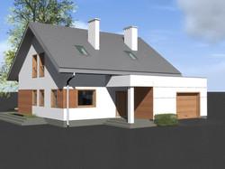 dom jednorodzinny/MONO-ART