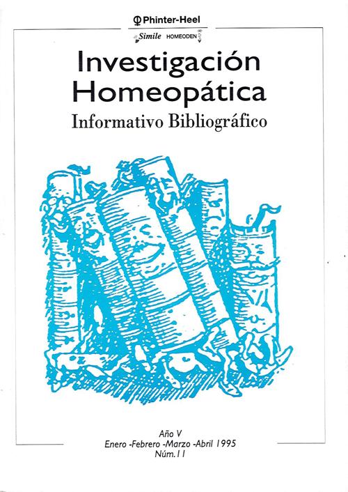 Homeopatía y biofísica de la excitacion coherente