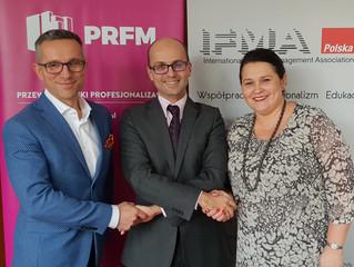 IFMA Polska i Polska Rada Facility Management podpisują list intencyjny o wzajemnej współpracy!