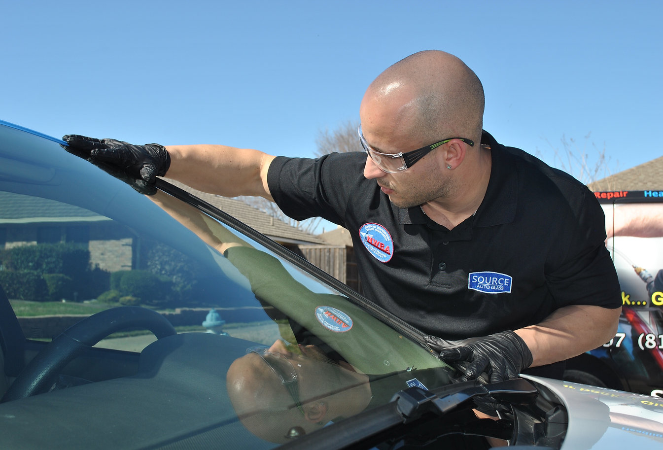 windshield replacement live