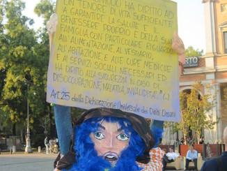 """RE 12/07/14: Comunicato """" Diritto all'Abitare - La Vita vale più della Proprietà Privata"""