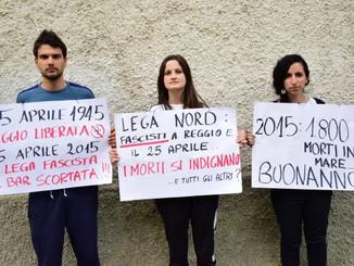 25 Aprile: Buonanno (LN) a Reggio Emilia.