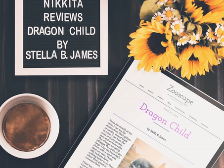 Nikkita Reviews: The Dragon Child by Stella James