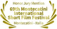 Mencion de Honor del Jurado 69th Montecatini International