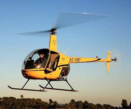 fotografia aerea con helicoptero