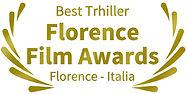 Mejor Trhiller Florence Film Awards