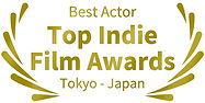 Mejor Actor Top Indie Film Awards