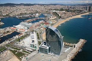 fotografia aèria hotel w barcelona