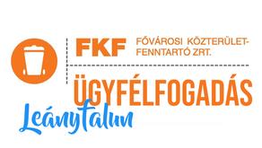 FKF ügyfélfogadási ideje a Polgármesteri Hivatalban - 2021