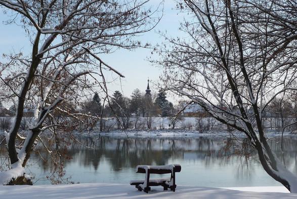 Leányfalu tél