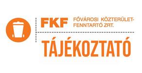 FKF tájékoztató - FONTOS!