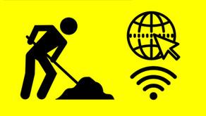 Útfelbontásokkal jár a Szupergyors Internet Program