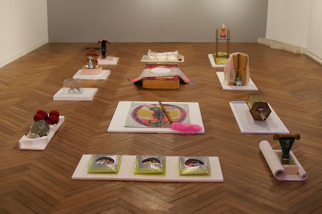 Les Joyaux de Bigards, série de 12 sculptures.