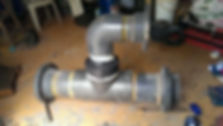A major Oil & Gas Refinery approached a Unique Polymer Systems distributorregarding a leaking UVPC Pipe Joint, the joint was leaking due to age & corrosion so needed a unique solutionto solve the issue.  The job previously attempted using a competitor's product, however the repair failed. This gave the distributor an opportunity to show how Unique our range really is. (Unique Polymer Systems LTD)
