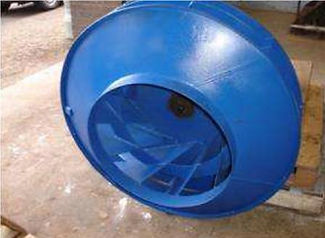 he environment of the plant ensures that carbon steel surfaces need to be protected at all times.  ​ The fans are used in a drying process and over a period of time salt spray builds up on the surface of the fan.  ​ Unique Polymer Systems LTD recommended the application of UPS 210 CR Efficiency Fluid Ceramic to the surface of the fan. The material offers a smooth flow efficiency to finish to metal surfaces.  ​