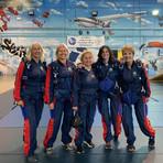 Sky Diving Ladies