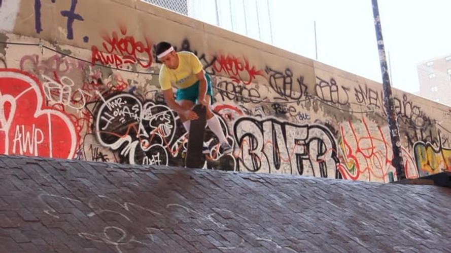 Brooklyn Banks: Freestyle Skateboarding