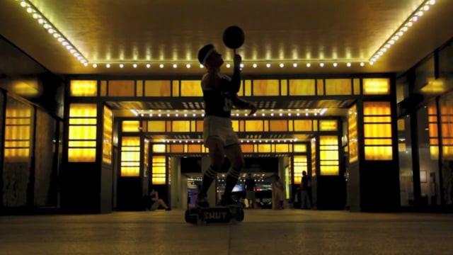 The Skateboarding Globetrotter