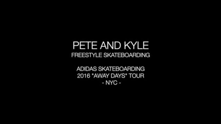 Adidas Skateboarding 'Away Days' Tour